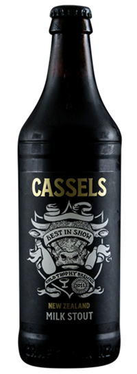 Cassels Milk Stout Craft Beer Bottle